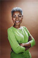 Portrait of Woman in Studio Stock Photo - Premium Rights-Managednull, Code: 700-03848884