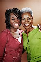 Portrait of Mother and Daughter Stock Photo - Premium Rights-Managednull, Code: 700-03848885
