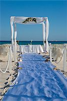 special moment - Canopy for Wedding on Beach, Reef Playacar Resort and Spa, Playa del Carmen, Mexico Stock Photo - Premium Royalty-Freenull, Code: 600-03849168