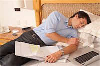 Man using Laptop in Hotel Room, Reef Playacar Resort and Spa, Playa del Carmen, Mexico Stock Photo - Premium Royalty-Freenull, Code: 600-03849178
