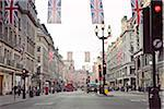 Regent Street Decorated with Flags for Royal Wedding of Prince William and Kate Middleton, Westminster, London, England Stock Photo - Premium Rights-Managed, Artist: Matt Brasier, Code: 700-03849376