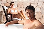 Couple at Spa, Reef Playacar Resort and Spa, Playa del Carmen, Mexico