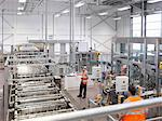 Factory workers in bottling plant Stock Photo - Premium Royalty-Freenull, Code: 649-03858211