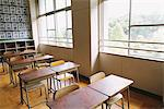 Empty Classroom Stock Photo - Premium Rights-Managed, Artist: Aflo Relax, Code: 859-03860978