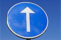 forward - Road sign, Sweden. Stock Photo - Premium Royalty-Freenull, Code: 6102-03866673