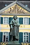 Statue of Ludwig Van Beethoven in front of the post office, Bonn, North Rhineland Westphalia, Germany, Europe Stock Photo - Premium Rights-Managed, Artist: Robert Harding Images, Code: 841-03868290