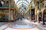 Interior of Cross Arcade, Leeds, West Yorkshire, England, United Kingdom, Europe Stock Photo - Premium Rights-Managed, Artist: Robert Harding Images, Code: 841-03869743