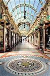 Interior of Cross Arcade, Leeds, West Yorkshire, England, United Kingdom, Europe Stock Photo - Premium Rights-Managed, Artist: Robert Harding Images, Code: 841-03869744