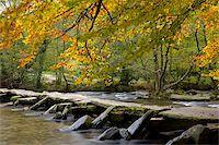 prehistoric - Prehistoric Clapper bridge, Tarr Steps in Exmoor National Park, Somerset, England, United Kingdom, Europe Stock Photo - Premium Rights-Managednull, Code: 841-03869872