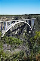 Bloukrans River Bridge, site of world's highest bungy jump, Storms River, Eastern Cape, South Africa, Africa Stock Photo - Premium Rights-Managednull, Code: 841-03870153