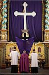 Good  Friday service, Gottweig Benedictine Abbey, Gottweig, Lower Austria, Austria, Europe Stock Photo - Premium Rights-Managed, Artist: Robert Harding Images, Code: 841-03870527