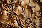 Detail of the Nativity on the carved altar, dating from 1509, Mauer bei Melk church, Lower Austria, Austria, Europe Stock Photo - Premium Rights-Managed, Artist: Robert Harding Images, Code: 841-03870529