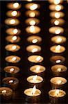 Candles in the Santuario della Consolata, Turin, Piedmont, Italy, Europe Stock Photo - Premium Rights-Managed, Artist: Robert Harding Images, Code: 841-03870713