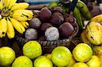 Local fruits, maracuja and nuts, in the central market of Belem, Brazil, South America Stock Photo - Premium Rights-Managed, Artist: Robert Harding Images, Code: 841-03870774