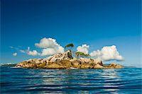 seychelles - Little uninhabitated island near Ile aux Cocos, Seychelles, Indian Ocean, Africa Stock Photo - Premium Rights-Managednull, Code: 841-03871145
