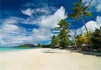 seychelles - Beach bungalows at beach of Anse Volbert, Praslin, Seychelles, Indian Ocean, Africa Stock Photo - Premium Rights-Managednull, Code: 841-03871155