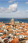 The rooftops of the city, Stralsund, UNESCO World Heritage Site, Mecklenburg-Vorpommern, Germany, Europe Stock Photo - Premium Rights-Managed, Artist: Robert Harding Images, Code: 841-03871421
