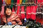 Saleswoman at coral and stone shop, Panjiayuan flea market, Chaoyang District, Beijing, China, Asia Stock Photo - Premium Rights-Managed, Artist: Robert Harding Images, Code: 841-03871449