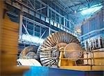 Turbines in power station Stock Photo - Premium Royalty-Free, Artist: Anna Huber, Code: 649-03883742