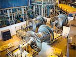 Turbines in power station Stock Photo - Premium Royalty-Free, Artist: Martin Ruegner, Code: 649-03883745