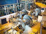 Workers with turbines in power station Stock Photo - Premium Royalty-Free, Artist: Arcaid, Code: 649-03883746