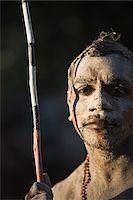 queensland - Australia, Queensland, Laura.  Indigenous dancer from the Lockhart River community at the Laura Aboriginal Dance Festival. Stock Photo - Premium Rights-Managednull, Code: 862-03887272