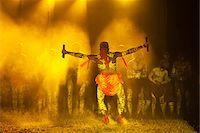 queensland - Australia, Queensland, Laura.  Indigenous dancers performing at the Laura Aboriginal Dance Festival. Stock Photo - Premium Rights-Managednull, Code: 862-03887280