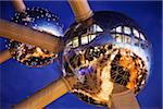 The Atomium,Grimbergen, Strombeek Bever, Belgium Stock Photo - Premium Rights-Managed, Artist: AWL Images, Code: 862-03887341
