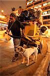 Homeless man with his dog in downtown Sao Paulo. Brazil Stock Photo - Premium Rights-Managed, Artist: AWL Images, Code: 862-03887371