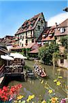 Petite Venice, Colmar, Alsace, France Stock Photo - Premium Rights-Managed, Artist: AWL Images, Code: 862-03887756