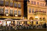 Restaurant, Muenster, Muensterland, North Rhine Westphalia, Germany Stock Photo - Premium Rights-Managed, Artist: AWL Images, Code: 862-03887910