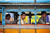 Streets of Kolkata (Calcutta), India Stock Photo - Premium Rights-Managednull, Code: 862-03888417