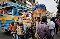 Traffic jam in Kolkata (Calcutta), India Stock Photo - Premium Rights-Managednull, Code: 862-03888418
