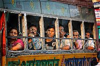 Streets of Kolkata. India Stock Photo - Premium Rights-Managednull, Code: 862-03888428