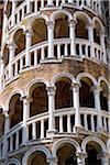 Spiral stairs, Palazzo Contarini del Bovolo, Venice, Veneto, Italy Stock Photo - Premium Rights-Managed, Artist: AWL Images, Code: 862-03888524