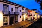 Historical center of Angra do Heroismo (UNESCO World Heritage Site). Terceira, Azores islands, Portugal