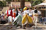 Traditional dancers in Las Palmas, Gran Canaria, Canary Islands, Spain Stock Photo - Premium Rights-Managed, Artist: AWL Images, Code: 862-03889771
