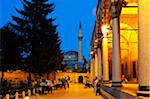 The Mausoleum and museum of Mevlana Rumi founder of the dervish philosophy. Konya, Turkey, Asia Stock Photo - Premium Rights-Managed, Artist: AWL Images, Code: 862-03889927
