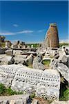 Archaeological site of Perge, Turquoise Coast, Turkey Stock Photo - Premium Rights-Managed, Artist: AWL Images, Code: 862-03889967