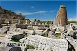 Archaeological site of Perge, Turquoise Coast, Turkey Stock Photo - Premium Rights-Managed, Artist: AWL Images, Code: 862-03889973