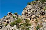 Rock Tombs in Myra, Lycia, Turquoise Coast, Turkey Stock Photo - Premium Rights-Managed, Artist: AWL Images, Code: 862-03889988