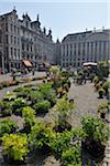 Flower Market in Grand Place, Brussels, Belgium Stock Photo - Premium Rights-Managed, Artist: Raimund Linke, Code: 700-03891074