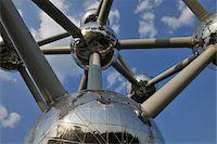 Atomium, Brussels, Belgium Stock Photo - Premium Rights-Managednull, Code: 700-03891080