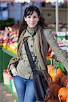 Woman at Outdoor Market, Montreal, Quebec, Canada Stock Photo - Premium Royalty-Free, Artist: Pierre Arsenault, Code: 600-03891317