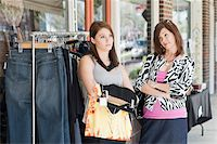 Mother and Daughter Having Argument While Shopping Stock Photo - Premium Rights-Managednull, Code: 700-03891333