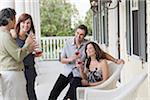 Couples Socializing Stock Photo - Premium Rights-Managed, Artist: Kevin Dodge, Code: 700-03891349