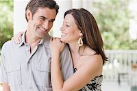 Couple on Porch Stock Photo - Premium Rights-Managednull, Code: 700-03891353