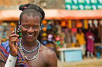 Masai Warrior Using Cell Phone Stock Photo - Premium Rights-Managednull, Code: 700-03893469