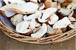 Cep Mushrooms in Basket, Viktualienmarkt, Munich, Germany Stock Photo - Premium Rights-Managed, Artist: Elke Esser, Code: 700-03901061