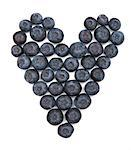 Blueberries in a heart shape, valentine Stock Photo - Premium Rights-Managed, Artist: foodanddrinkphotos, Code: 824-03901509
